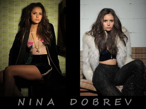 Nina Dobrev پیپر وال ❤
