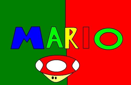 নিন্টেডো Mario Color Logo