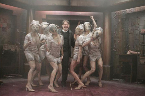 Nurses in Silent Hill: Revelation with producer Don Cormody