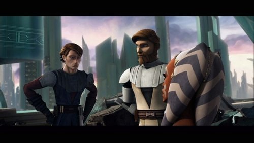 Obi-wan,Ahsoka,And Anakin
