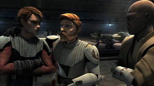 Obi wan, Mace, and Anakin