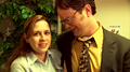 Pam and Dwight
