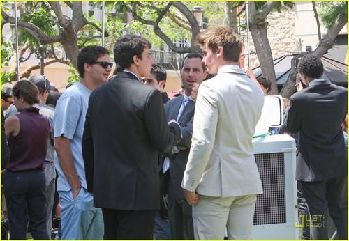Patrick Schwarzenegger: Summer Internship at the Grove!
