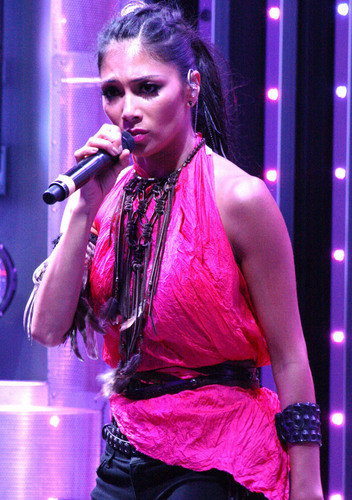 Performs At AMP Radio's Topless Summer Switch Party 12 07 2011