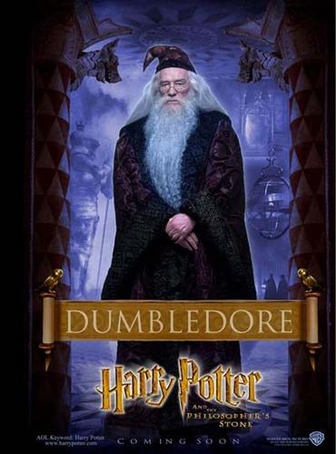 Philosopher's Stone Character Poster - Dumbledore