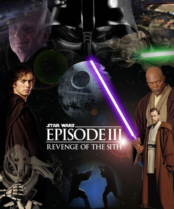Poster Bintang Wars Revenge Of The Sith Fan Art 23710886 Fanpop