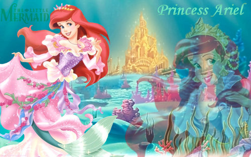 The Little Mermaid wallpaper probably containing anime entitled Princess Ariel