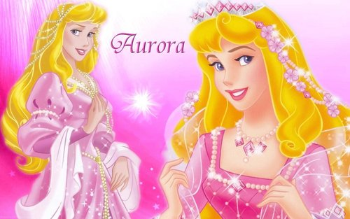 Sleeping Beauty kertas dinding called Princess Aurora