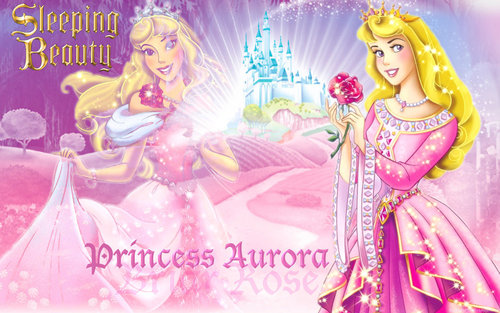 Sleeping Beauty wallpaper possibly with anime titled Princess Aurora
