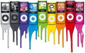 pelangi, rainbow of I pods