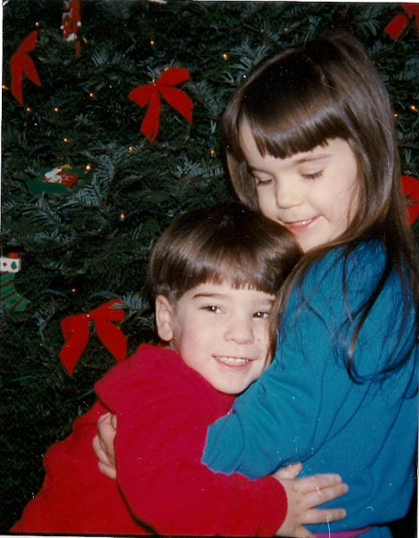 Random pics of me and my brother {When we were kids} :P