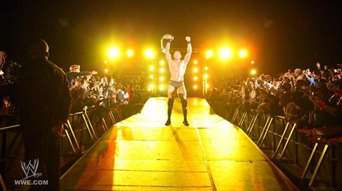 Randy orton Johannesburg, South Africa 2011 - দিন 1