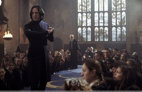 Severus Snape wallpaper probably with a concert, a brasserie, and a theater entitled Rare COS