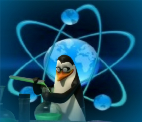 Penguins of Madagascar پیپر وال entitled Respect The Science!