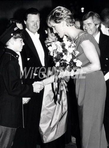 Royal Gala Evening Benefitting the Лондон City Ballet - October 4, 1990
