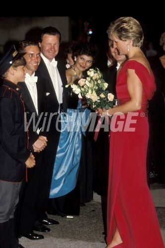Royal Gala Evening Benefitting the London City Ballet - October 4, 1990