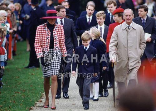 Royals At Sandringham