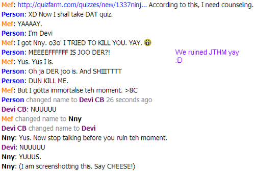 SIERRA AND I RUINED JTHM :D - sonic-fan-characters Screencap