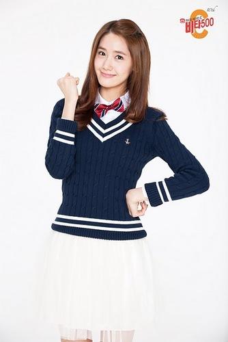 SNSD Yoona uniform Vita500