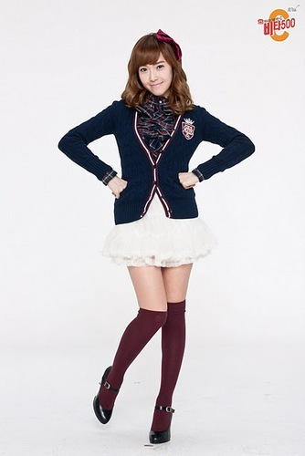 SNSD Jessica uniform Vita500