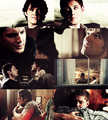 Sam & Dean - wincest fan art