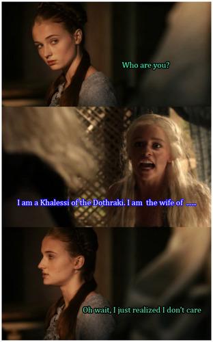 Sansa & Dany