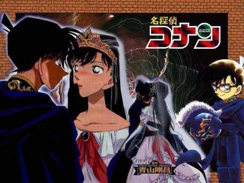 shinichi x ran wallpaper with anime titled Shinichi & Ran