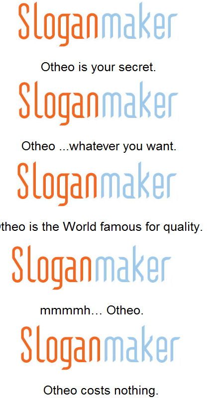 Slogan Maker, perfect for your manwhore OC xD - Total Drama