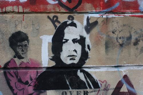 Snape Graffiti