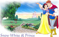Snow White and Prince - snow-white-and-the-seven-dwarfs wallpaper