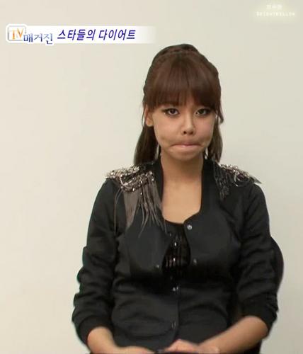 Sooyoung fish face :P