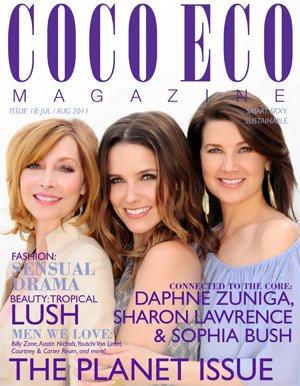 Sophia struik, bush Daphne Zuniga & Sharon Lawrence