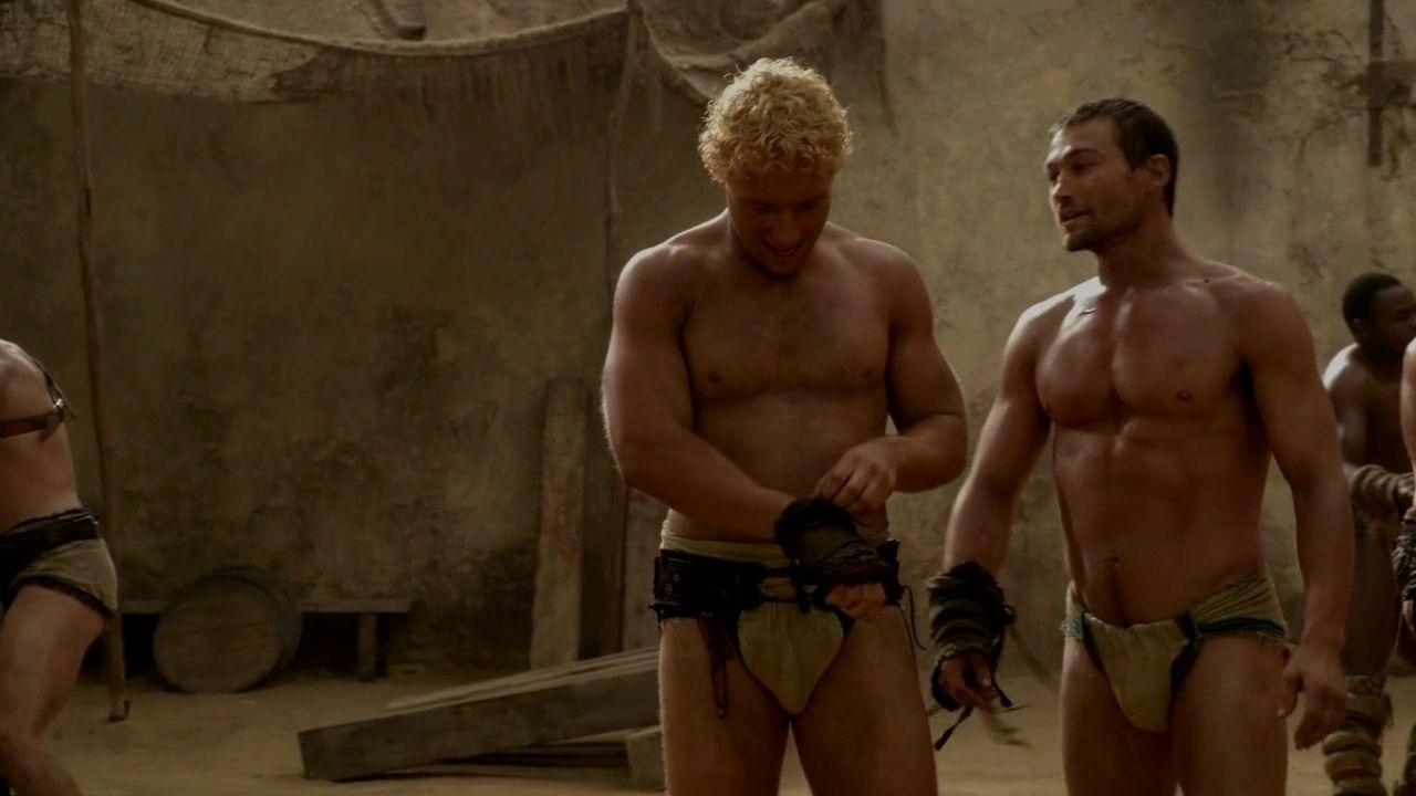 Порно фото из сериала спартак