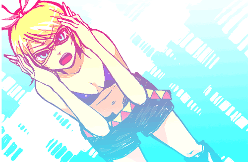 Stray Girl in her lenses