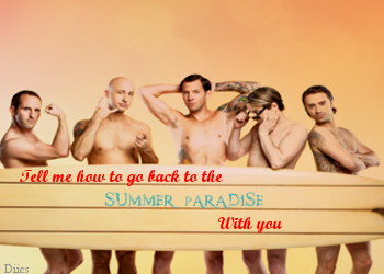 Simple Plan wallpaper possibly containing a park bench called Summer Paradise