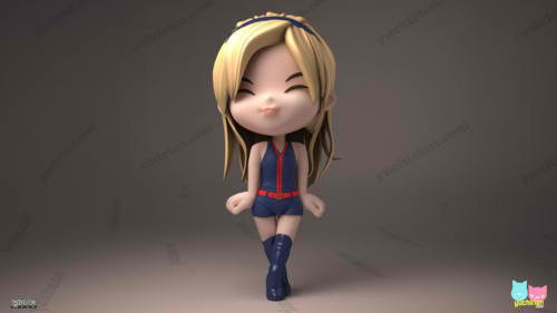 Girl's Generation/SNSD karatasi la kupamba ukuta called Sunny Hoot 3D cartoon