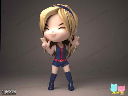 Sunny Hoot 3D cartoon