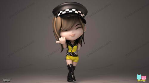 Sunny Mr. Taxi 3D cartoon