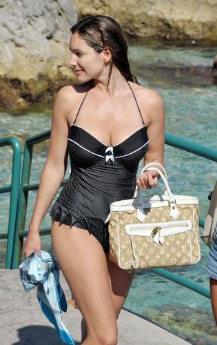 Swimsuit Candids in Ischia