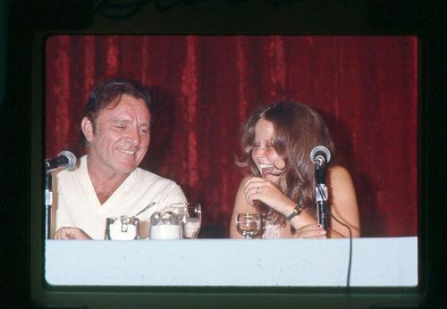 EXORCIST II: PROMO (1977) Richard burton & Linda Blair