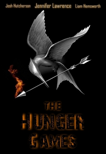 The Hunger Games Movie wallpaper probably containing a wind turbine called THG poster (by Danny Bee)
