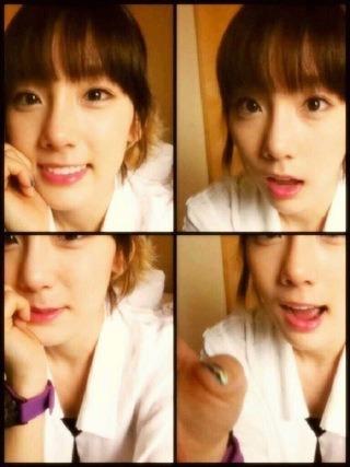 Taeyeon sel-ca