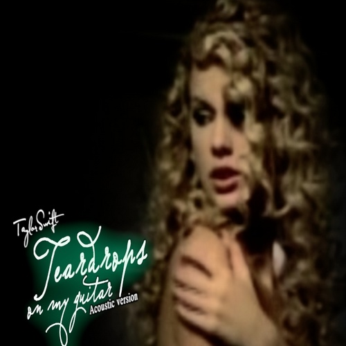 Taylor cepat, swift - Teardrops On My gitar (Acoustic Version) fanmade single cover