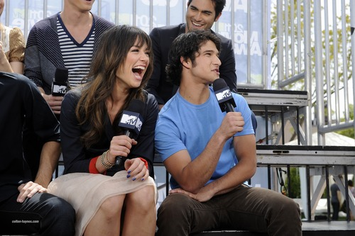Teen 늑대 Cast on MTV's The Seven - 03.06.11