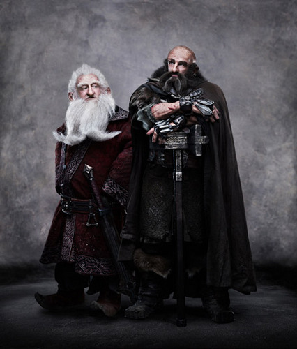 The Hobbit - Official Promo Pic of Balin and Dwalin