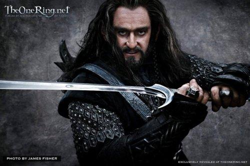 The Hobbit: Richard Armitage as Thorin Oakenshield
