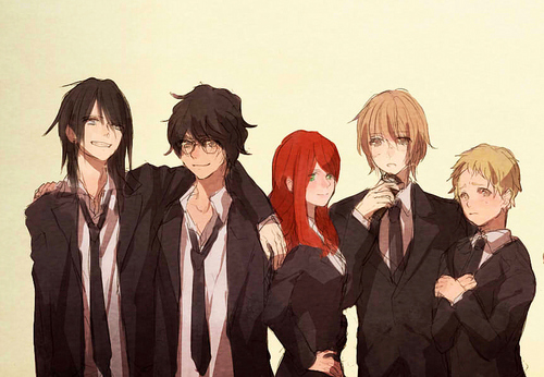 The Marauders and Lily