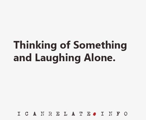 Thinking of Something