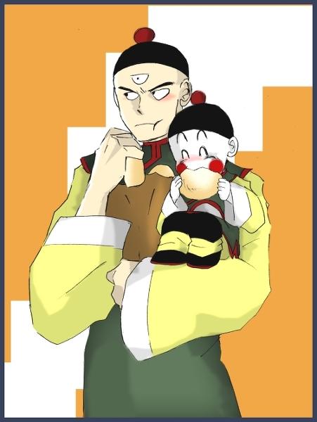 Tien And Chiaotzu
