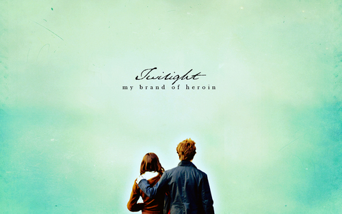 Filem Twilight kertas dinding with a sign titled Twilight kertas dinding